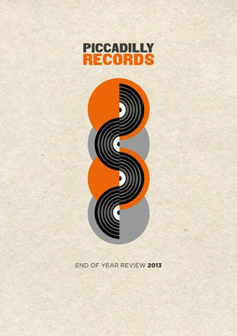 Piccadilly Records End Of Year Review 2013 by Piccadilly