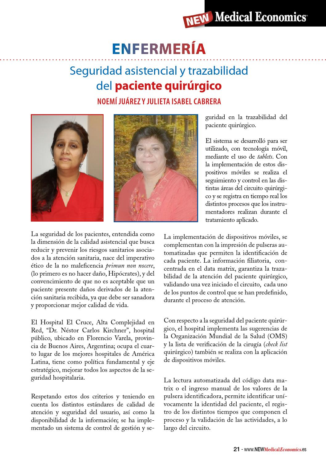 Circuito Quirurgico : Nº 22 new medical economics by raíz issuu