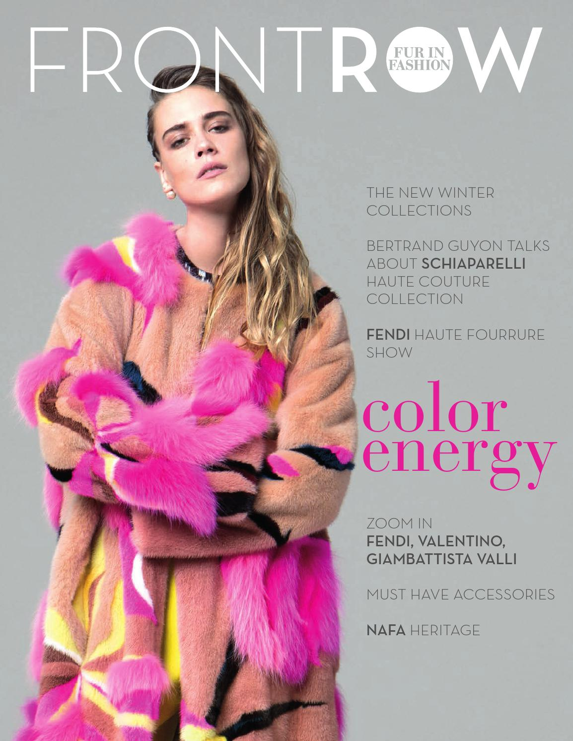 FRONTROW fur in fashion #1 by FRONTROW FUR IN FASHION issuu