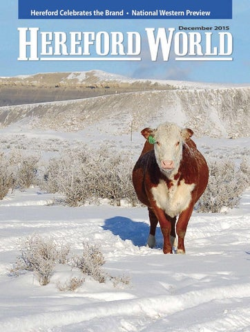 December 2015 Hereford World by American Hereford Association and ... 25eacb3a12b0