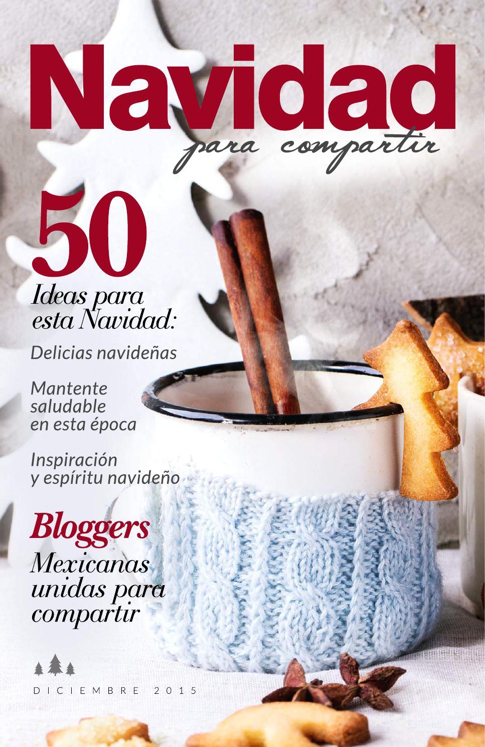 Navidad para compartir by chokolat pimienta issuu - Revista cocina facil lecturas ...