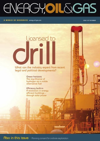 Energy Oil Amp Gas Issue 127 December 2015 By Schofield