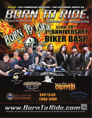 Born To Ride Delmarva Magazine #11 May 2011 by Born To Ride TV