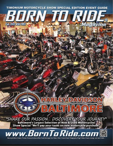 f596624bb Born To Ride Delmarva Magazine #16 February 2012 by Born To Ride TV ...