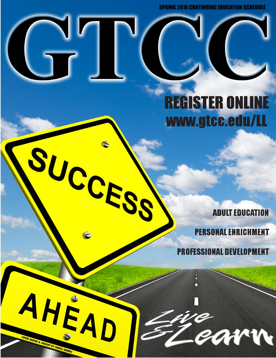 GTCC\'s Spring 2016 Live & Learn Schedule by Guilford Technical ...