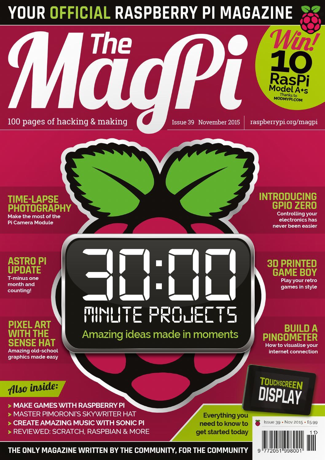 Magpi39 By Khuzthul Issuu Wiringpi2 Python I2c