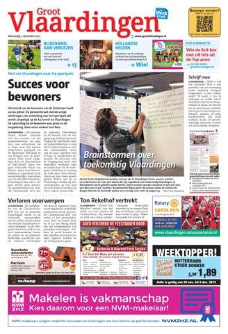 dfd2b5e03fc Groot Vlaardingen week49 by Wegener - issuu