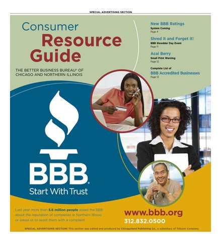 f4c54164206 Consumer Resource Guide - Spring 2009 by bbbchicago - issuu