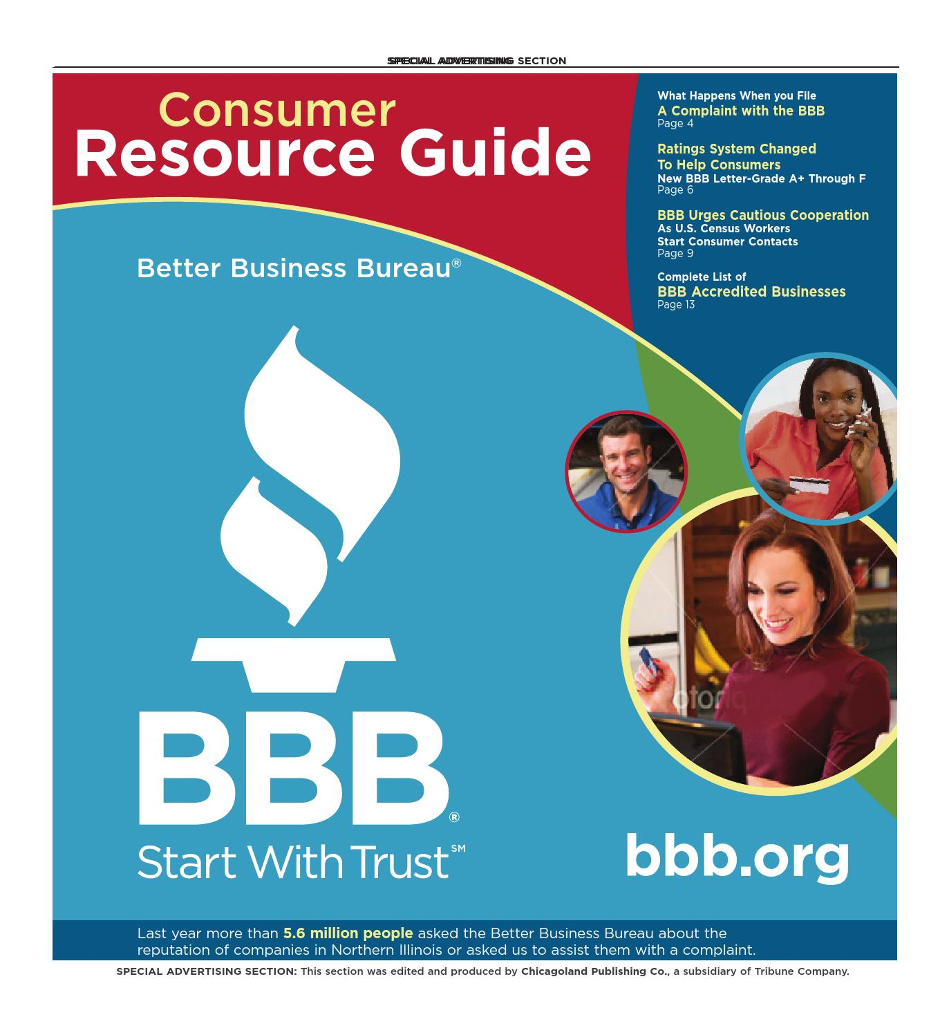 d272f0a1dee Consumer Resource Guide - Fall 2009 by bbbchicago - issuu