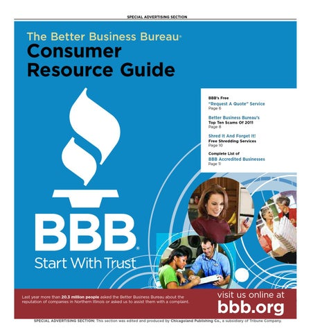 Consumer Resource Guide - Spring 2012 by bbbchicago - issuu
