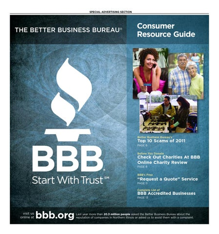 huge selection of 47400 de767 Consumer Resource Guide - Fall 2012 by bbbchicago - issuu