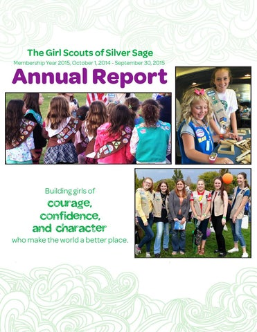 gsssc 2015 annual report by girl scouts of silver sage   issuu