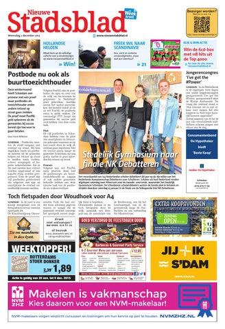 87251058602c9e Nieuwe Stadsblad week49 by Wegener - issuu