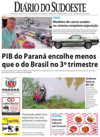 ab9e28604f23a Diário do sudoeste 2 de dezembro de 2015 ed 6523 by Diário do ...