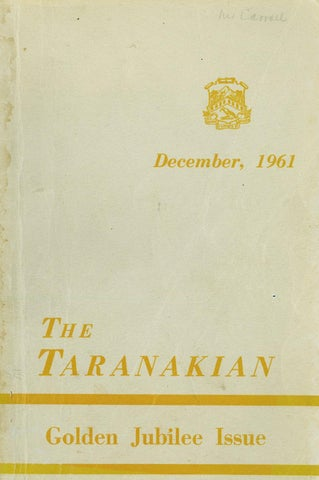722e4e9fa8 1961 The Taranakian Vol. 50 No. 1 by New Plymouth Boys  High School ...