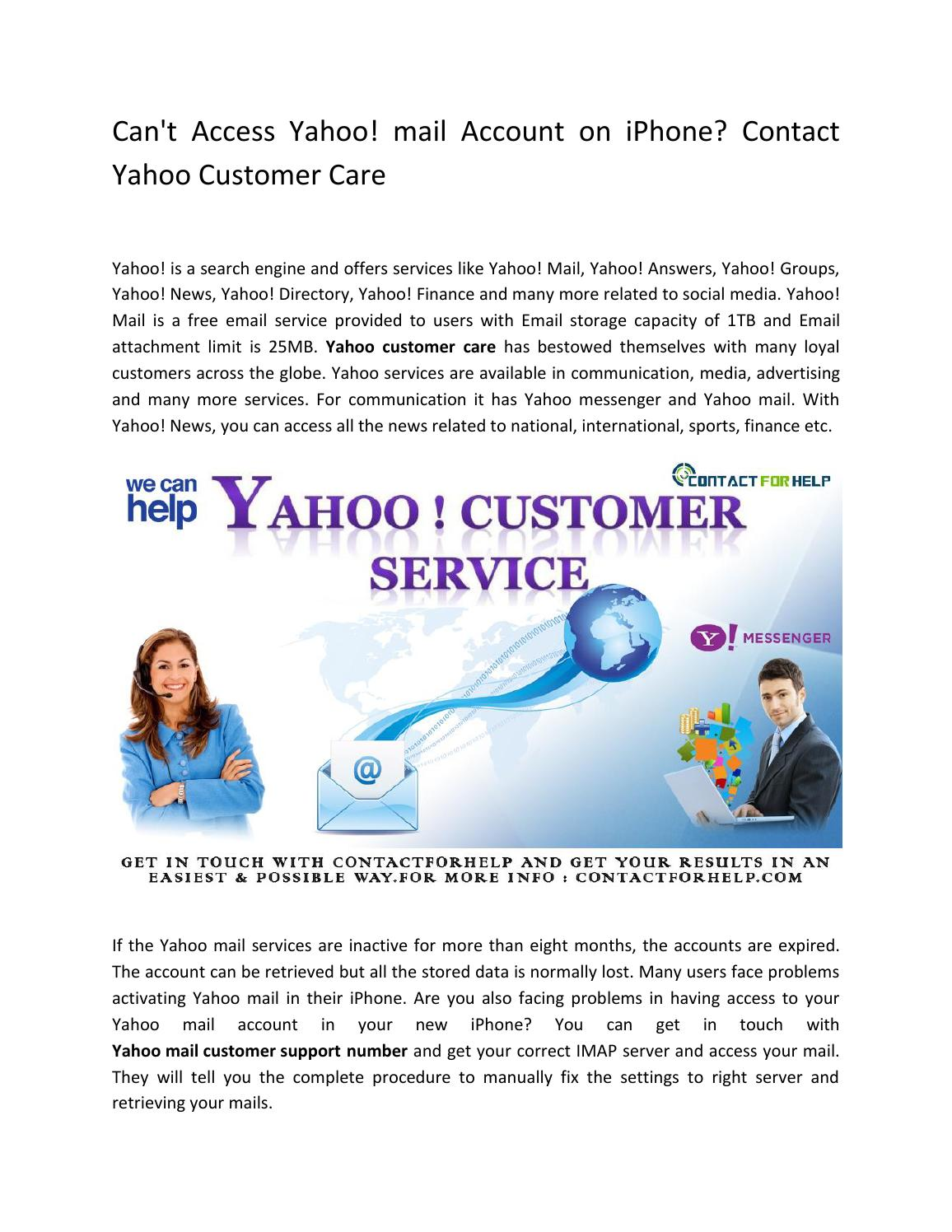 how to contact yahoo customer support by email