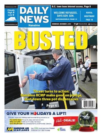 Nanaimo Daily News December 02 2015 By Black Press Issuu