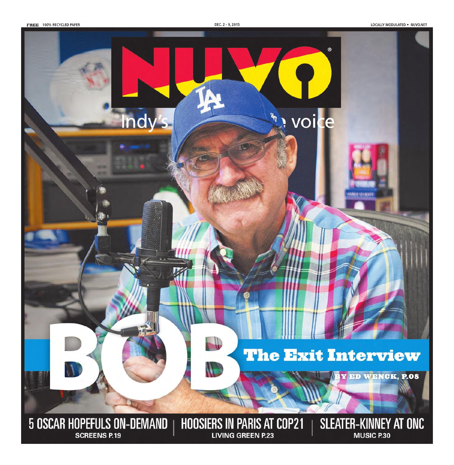 NUVO: Indy\'s Alternative Voice - December 2, 2015 by NUVO Newsweekly ...