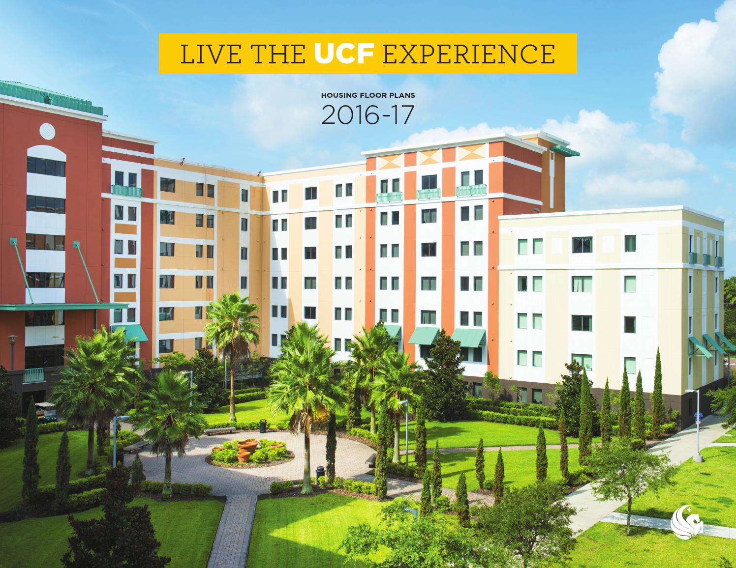 Ucf Housing Floorplans 2016 17 By University Of Central Florida Issuu