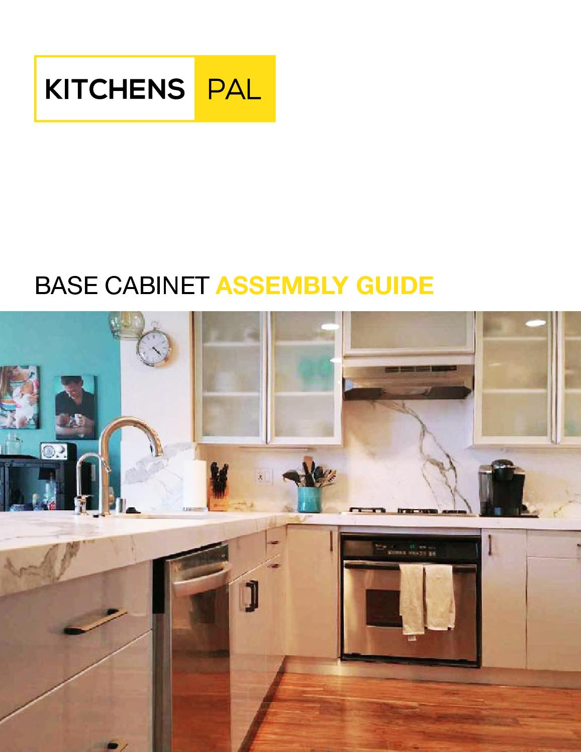 Base Cabinet Assembly Instructions By Kitchens Pal Issuu
