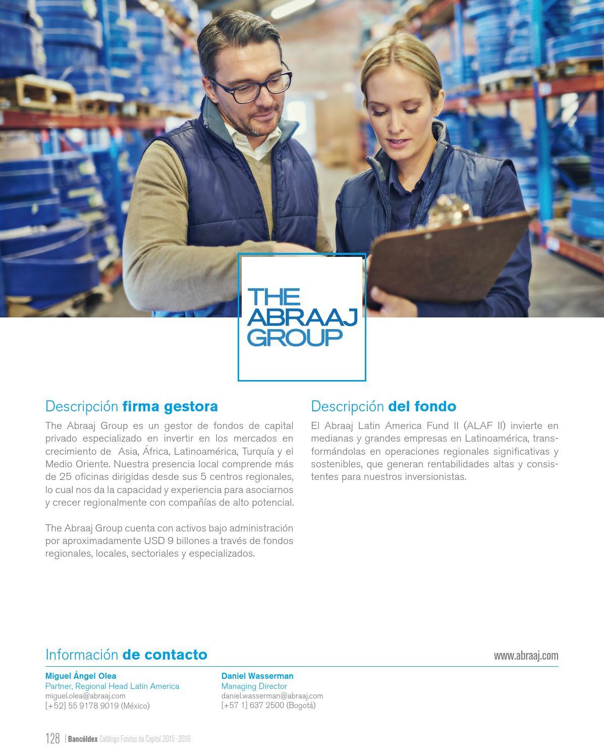 Bancóldex - Catálogo Fondos de Capital 2015 - 2016 by