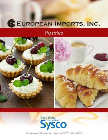 European Imports: Pastries by Sysco Arizona - issuu