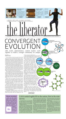 The Liberator Issue 1 (2014-15) by The Liberator - issuu