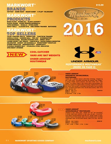 Markwort 2015 Baseball Softball Catalog by Markwort Sporting Goods - issuu