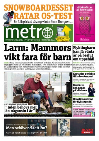 a1f6ee6968e6 20151203_se_stockholm by Metro Sweden - issuu