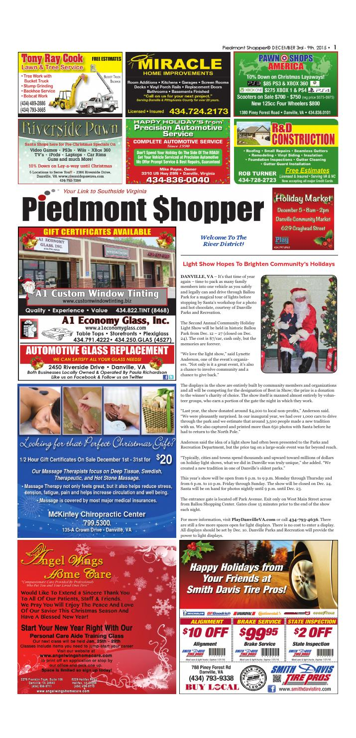 db7c7c8294 Piedmont Shopper December 3-9