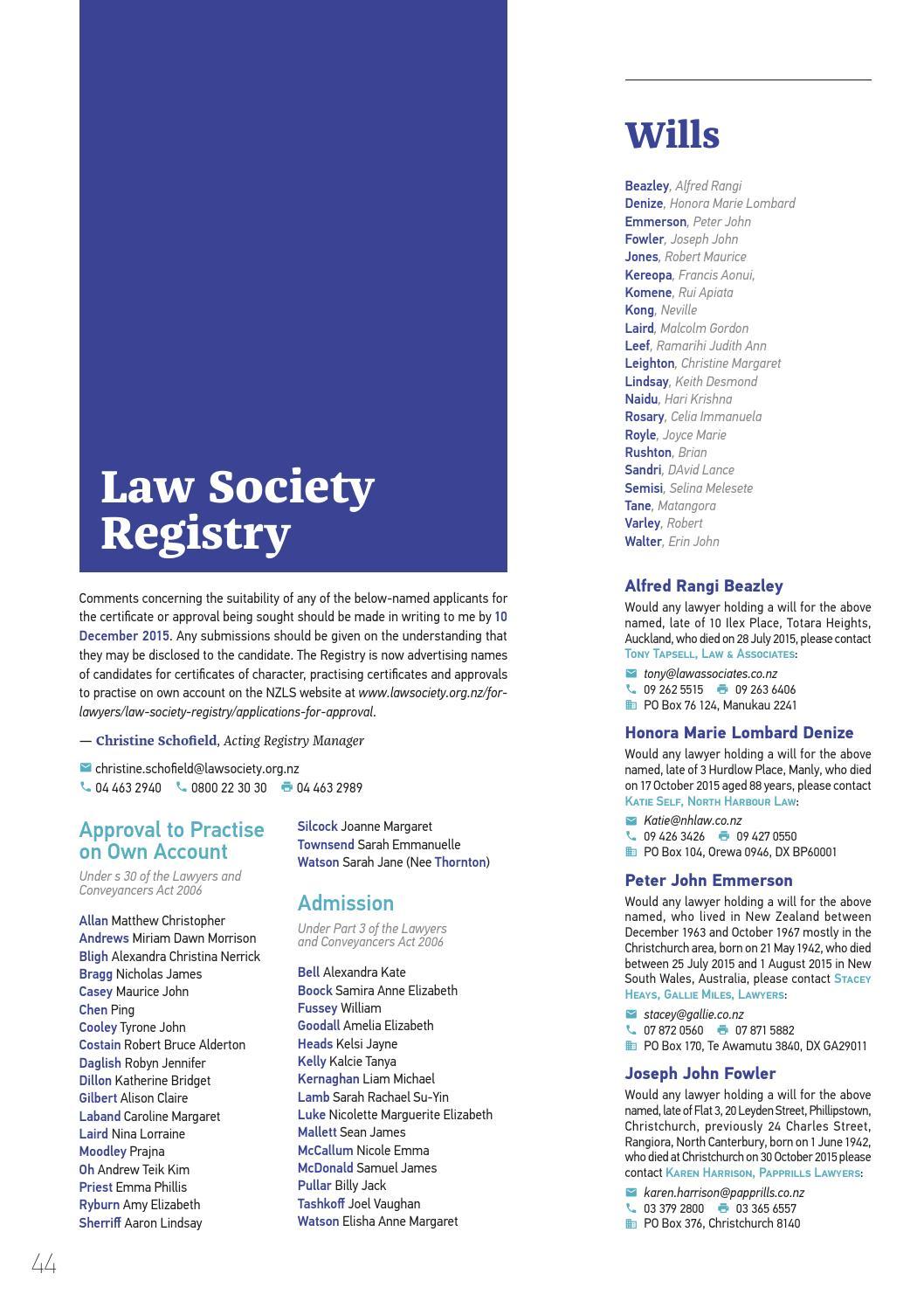 LawTalk 879 by NZ Law Society - issuu