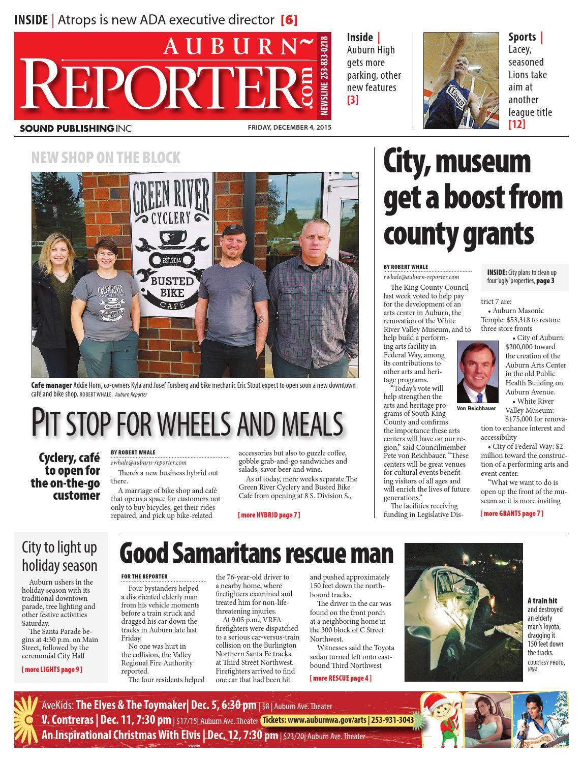 Auburn Reporter, December 04, 2015 by Sound Publishing - issuu