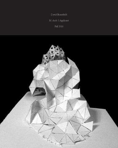 David Bransfield M Arch I Portfolio FINAL