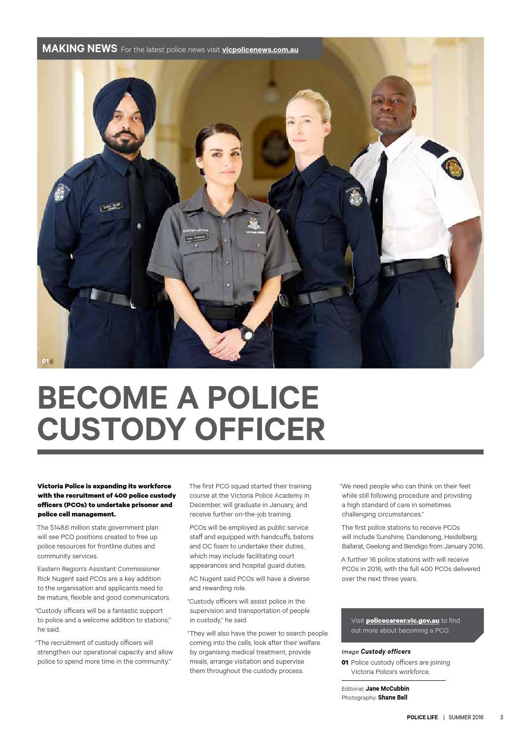 Police custody officer PCO application Jobs 1119664 ... - photo#43