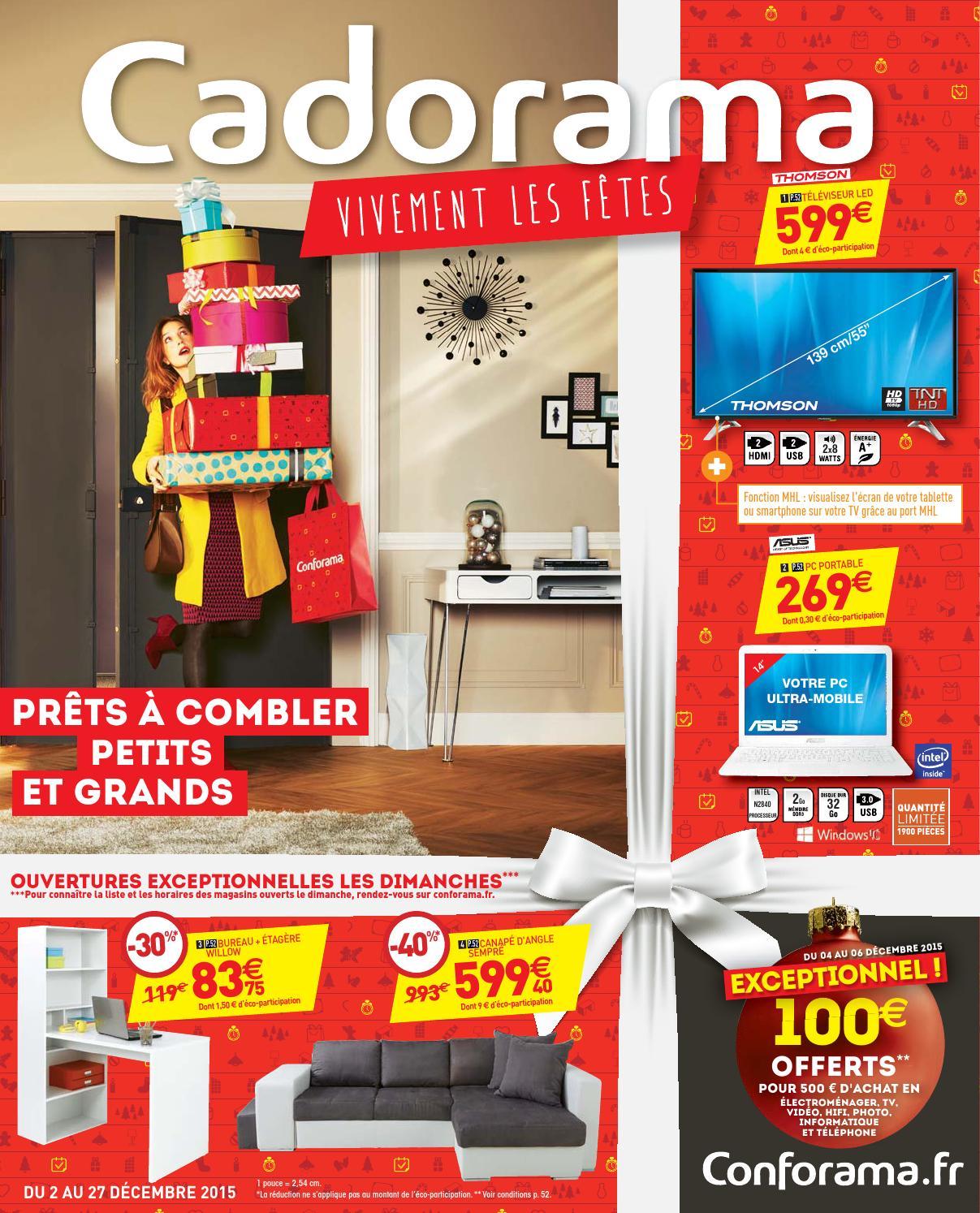Conforama catalogue 2 27decembre2015 by PromoCatalogues.com - issuu
