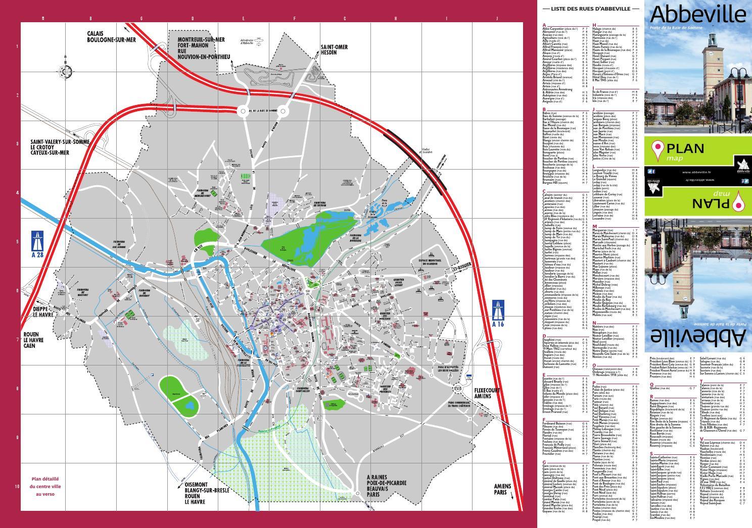 abbeville plan de ville by communication abbeville issuu. Black Bedroom Furniture Sets. Home Design Ideas