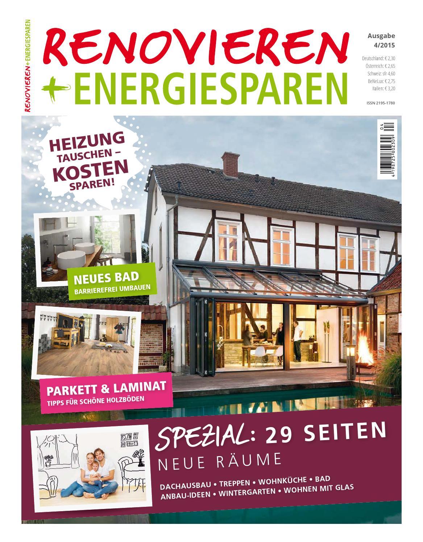 Renovieren U0026 Energiesparen 4/2015 By Family Home Verlag GmbH Issuu