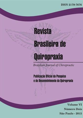 Revista brasileira de quiropraxia vol vi n 2 by fabio batista page 1 fandeluxe Gallery