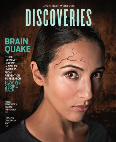 Discoveries magazine Winter 2016 by Cedars-Sinai Discoveries