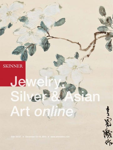 d6ff55ea840a Jewelry, Silver & Asian Art online | Skinner Auction 2872T by ...