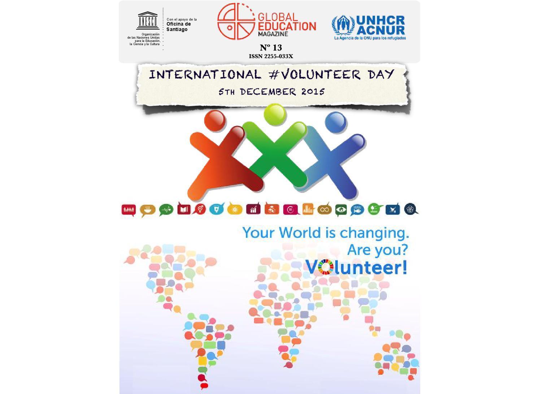 Global education magazine international volunteer day by global global education magazine international volunteer day by global education magazine issuu fandeluxe Image collections