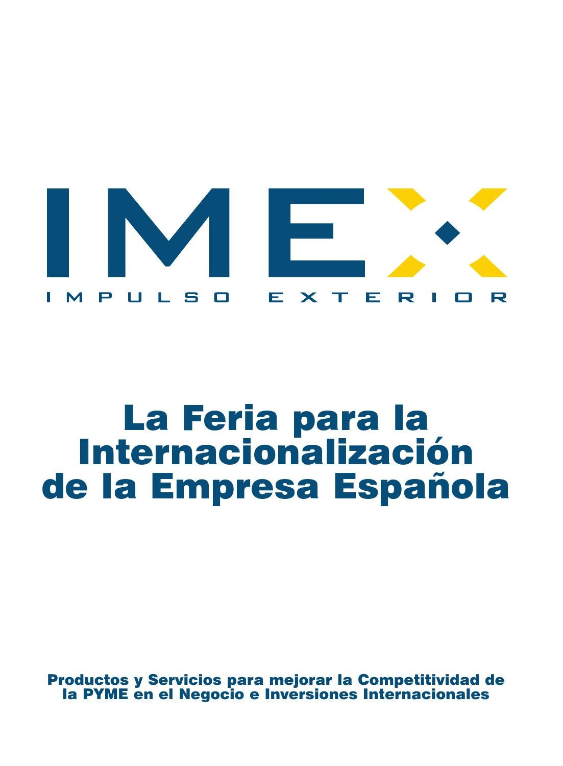 Dossier IMEX parte 1 by Impulso Exterior issuu