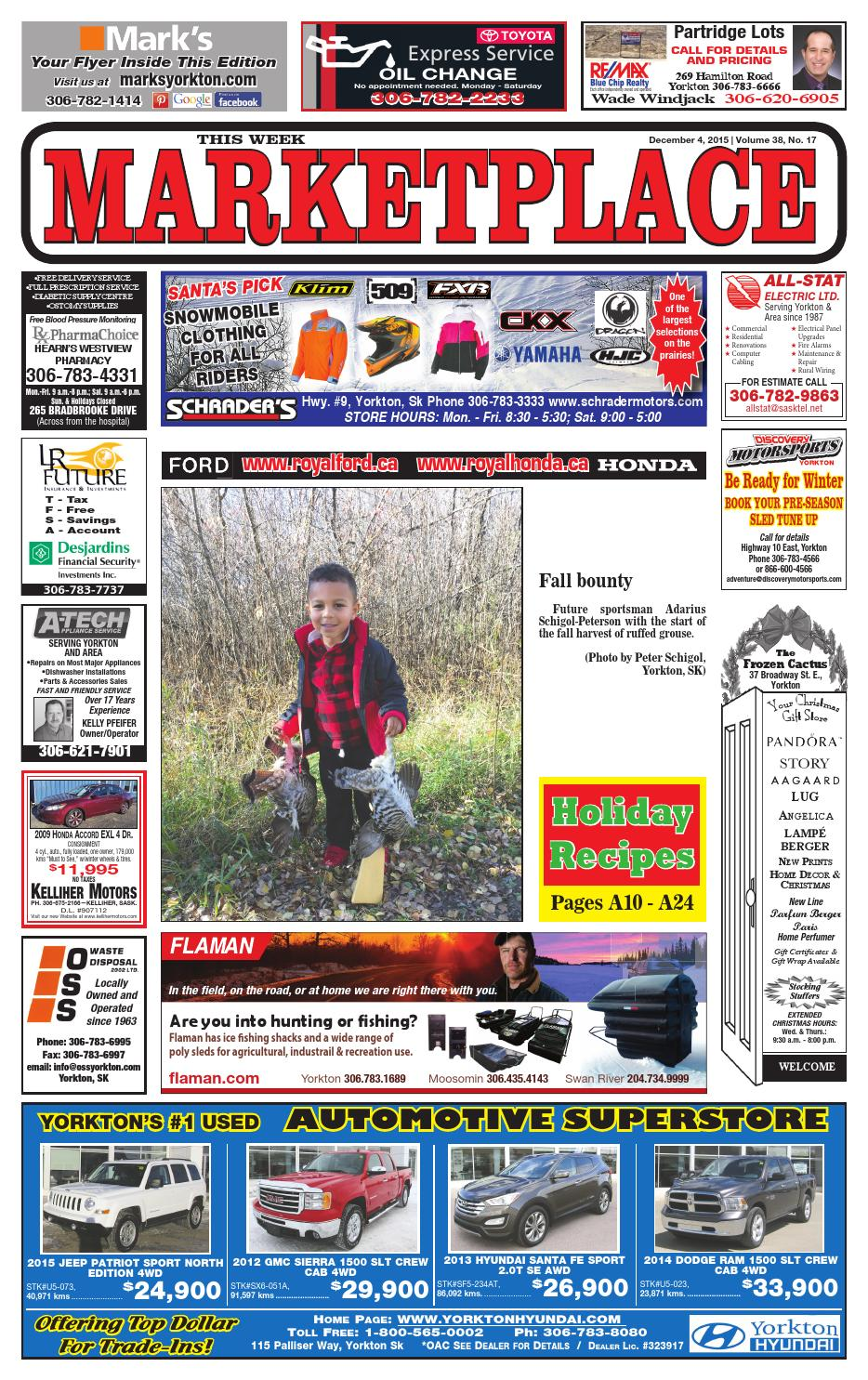 Marketplace December 4 2015 by Yorkton This Week - issuu