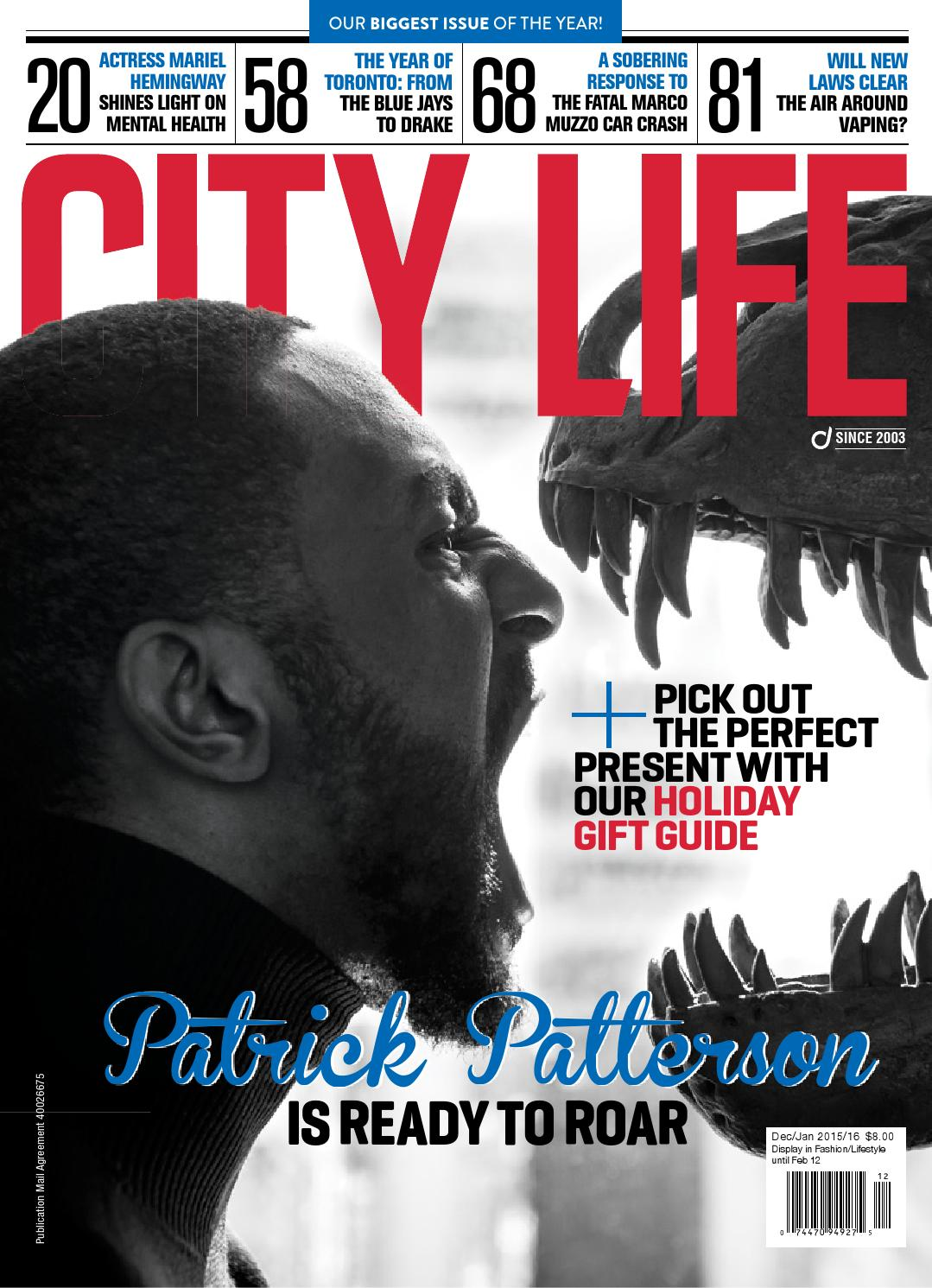 890534a7540603 City Life Magazine — Dec/Jan 2015/16 by Dolce Media Group - issuu