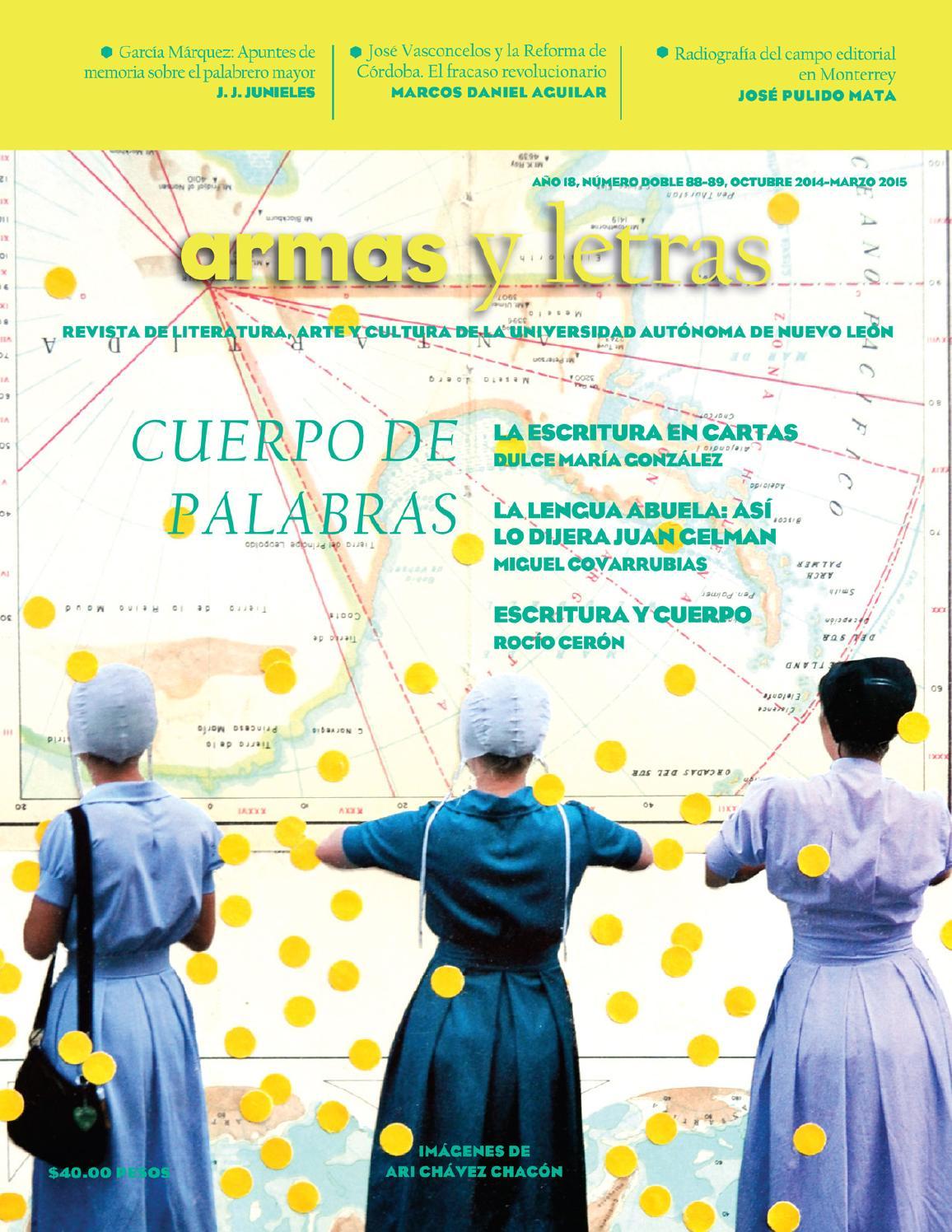 Armas y Letras 88-89 by Revista Armas y Letras - issuu