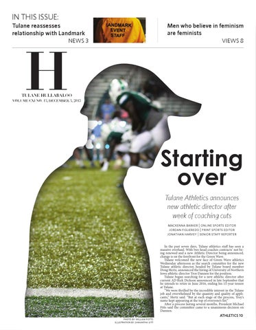 sports shoes e529d 9f788 Tulane Hullabaloo 12.3.15 by Tulane Hullabaloo - issuu