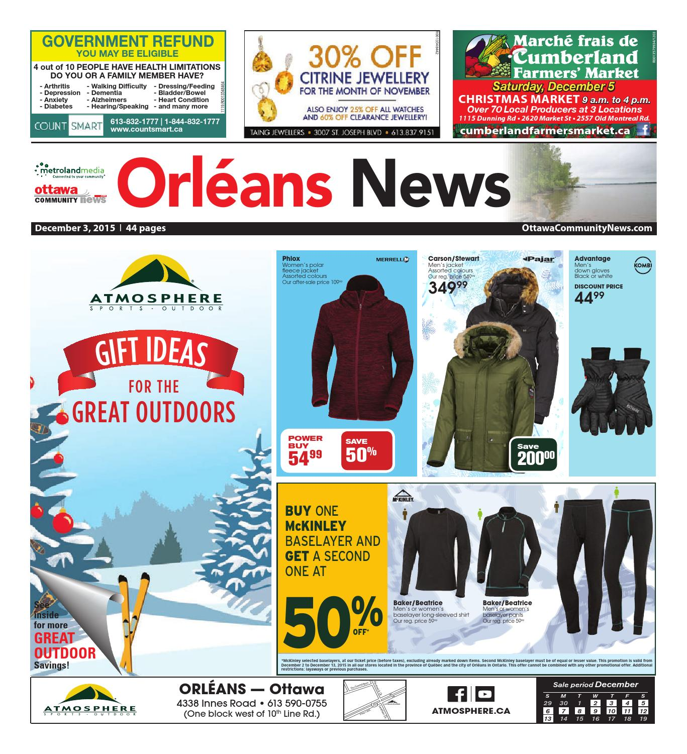 Orleans120315 by Metroland East Orleans News issuu
