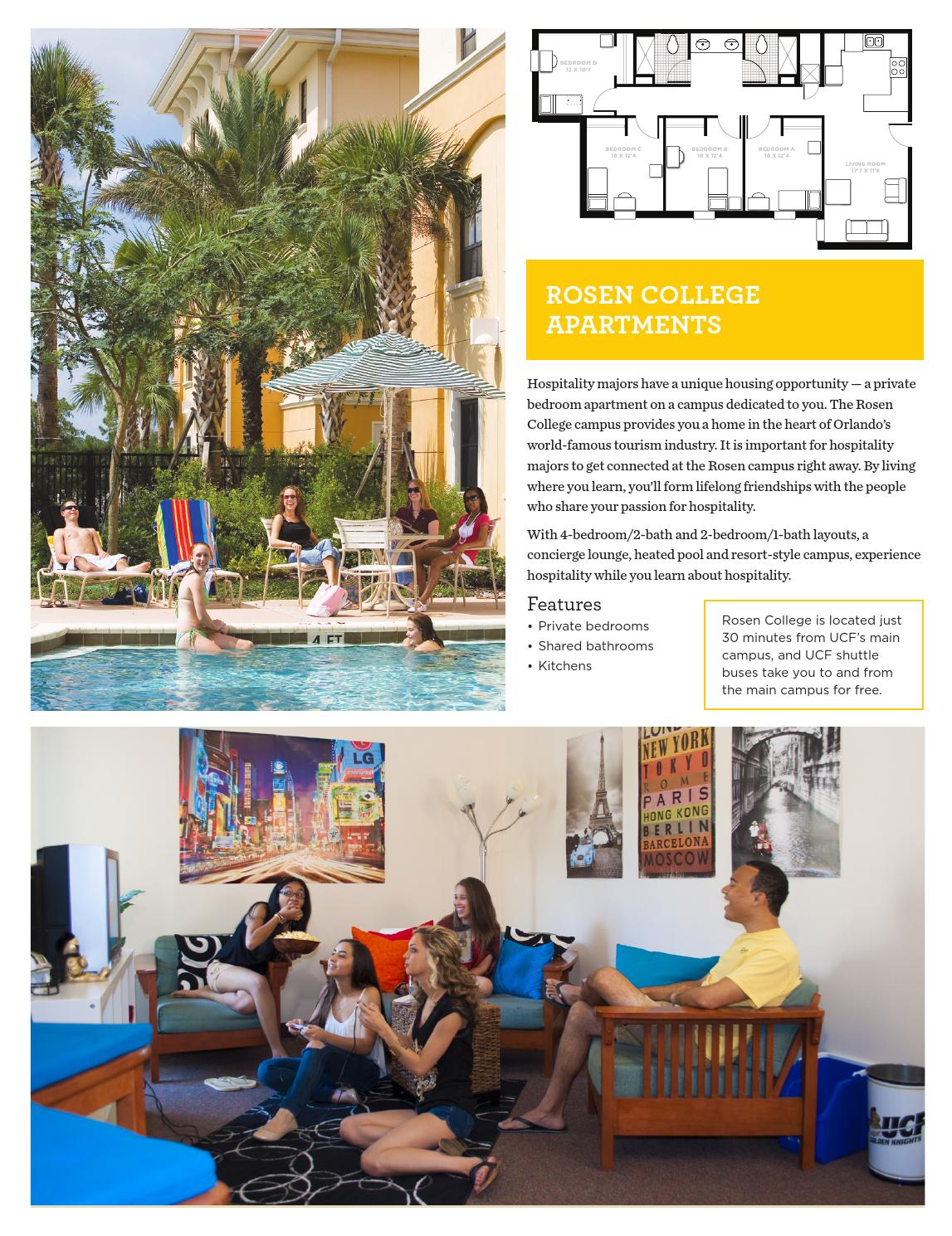 Ucf Lives Here Housing Viewbook 2016 2017 By University Of Central