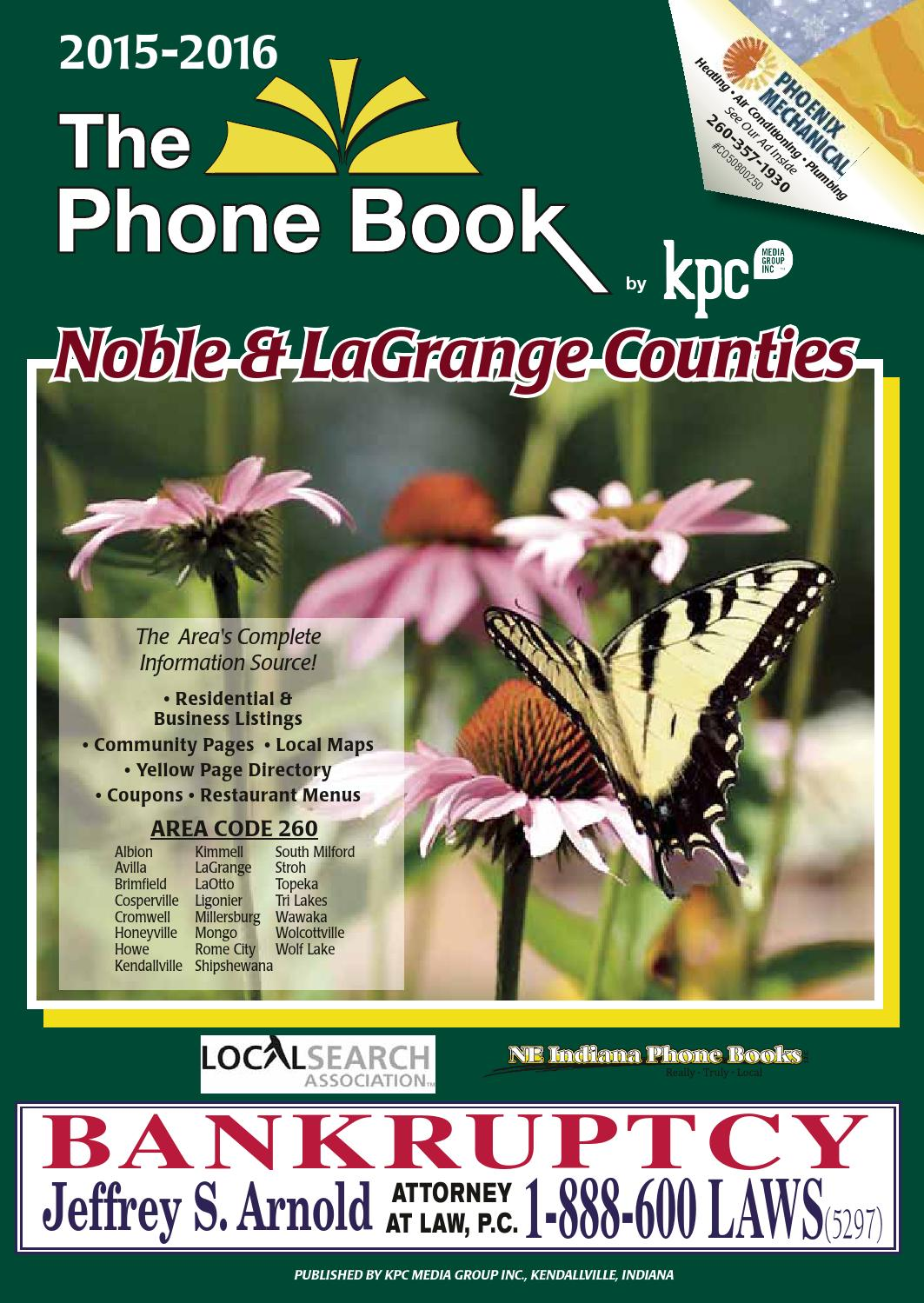 Yellow Pages Noble And Lagrange Counties 2015 2016 By Kpc Media Boat Tow Harness Walmart Group Issuu