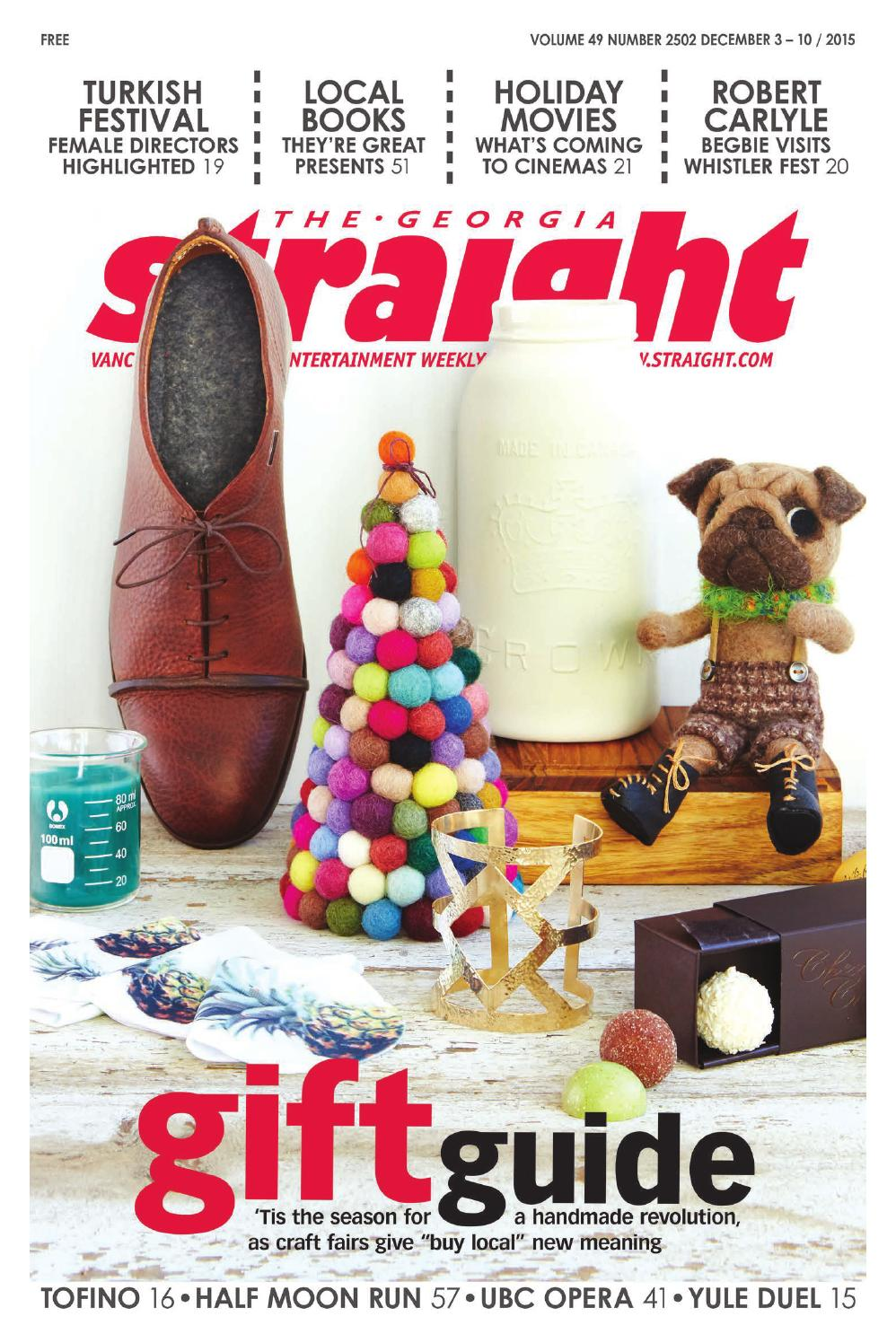 The Georgia Straight Holiday Gift Guide Dec 3 2015 By Sydney Xmas Lights 4 Drysdale Circuit Beaumont Hills Christmas Issuu